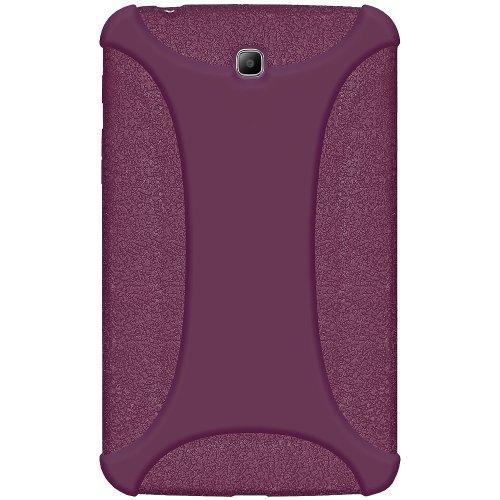 Amzer Exklusive Silikonhülle für Samsung Galaxy Tab3 GT-P3200 / GT-P3210 / SM-T210 17,8cm (7Zoll), Lila