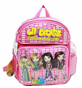 Amazon.com: Bratz Small Backpack with Water Bottle: Clothing