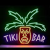 HOZER Professional Tiki Bar Design Decorate Neon Light Sign Store Display Beer Bar Sign Real Neon Signboard for Restaurant Convenience Store Bar Billiards Shops