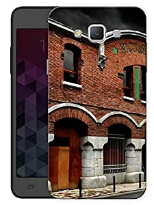 "Humor Gang Old Medieval Building Printed Designer Mobile Back Cover For ""Samsung Galaxy Grand 3"" (3D, Matte, Premium Quality Snap On Case)"