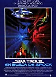 STAR TREK 3 III THE SEARCH FOR SPOCK - SPANISH MOVIE FILM WALL POSTER - 30CM X 43CM