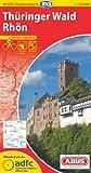 ADFC-Radtourenkarte 17 Thüringer Wald Rhön 1:150.000, reiß- und wetterfest, GPS-Tracks Download und Online-Begleitheft