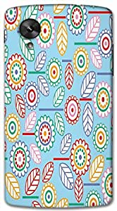 Timpax protective Armor Hard Bumper Back Case Cover. Multicolor printed on 3 Dimensional case with latest & finest graphic design art. Compatible with only Google Nexus-5. Design No :TDZ-21478