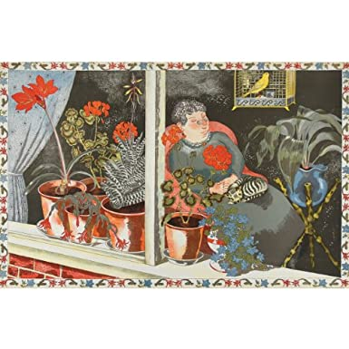 John Nash 'Window Plants' School Print