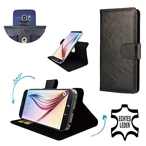 premium-echtleder-fur-htc-one-max-smartphone-schutzhulle-mit-dreh-und-standfunktion-360-leder-schwar