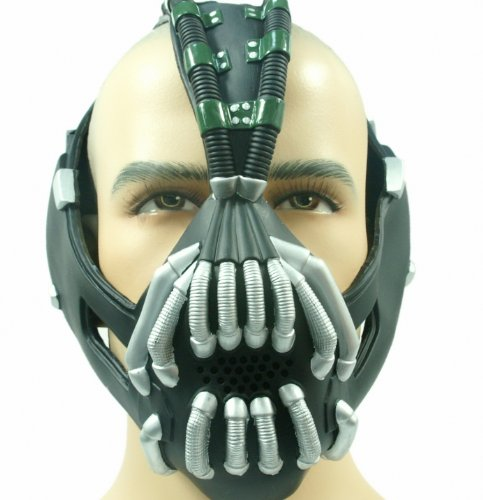 The Dark Knight Rise Mask Batman Bane Costume -Updated Version Xcoser