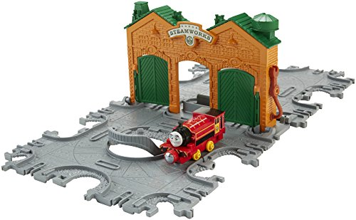 Fisher-Price Thomas The Train: Take-n-Play Steamworks Tile Tracks with Victor Engine
