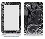 Bundle Monster Samsung Galaxy Tab 7.0 Vinyl Skin Cover Art Decal Sticker Protector Accessories - Gray Swirls
