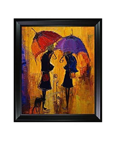 """Justyna Kopania """"Rain"""" Framed Giclée on Canvas"""