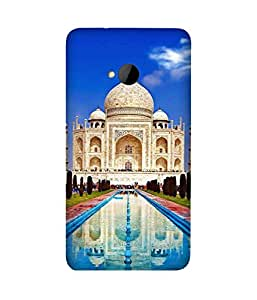 Majestic Taj Mahal Back Cover Case for HTC One M7