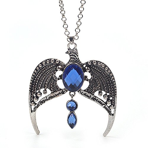 HARRY POTTER - Ravenclaw Lost Diadem Horcrux TIARA NECKLACE / Crown PENDANT