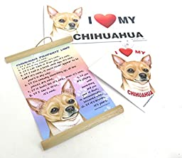 Chihuahua, Dog Gift Pack, Elegant Three Large Magnet, Gift For, Boac Labrador Lovers, Set of Three Magnet