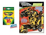 Green Dark of The Moon Coloring & Activities Book and 16 Crayola Crayons Box (Pack of 2)