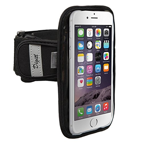 High Quality Armband for LG G3, HTC One (M8), Google Nexus 5 and iphone 6 Plus Neoprene Sweat / Water Resistant Gym Exercise Jogging Sports Strap