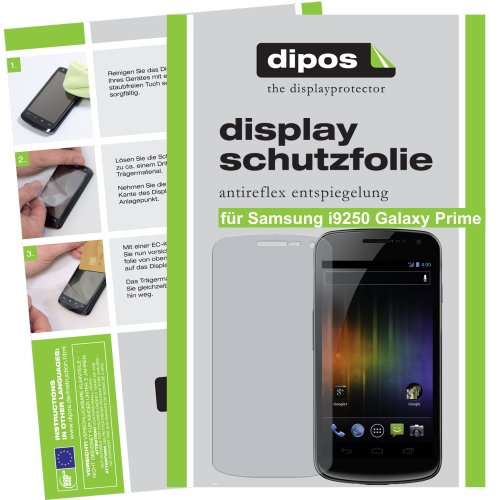 Dipos Screen Protector Films For Samsung Galaxy Nexus I9250 (Pack Of 2) - Anti Glare Screen Protector Matte