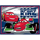 Disney/Pixar Cars Lightning McQueen Nylon Area Rug 39.5 X 54'