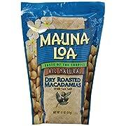 Mauna Loa Macadamias Dry Roasted with Sea Salt