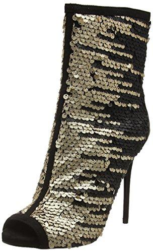 CarvelaGlamour - Stivaletti donna , Oro (Oro (Gold)), 39.5