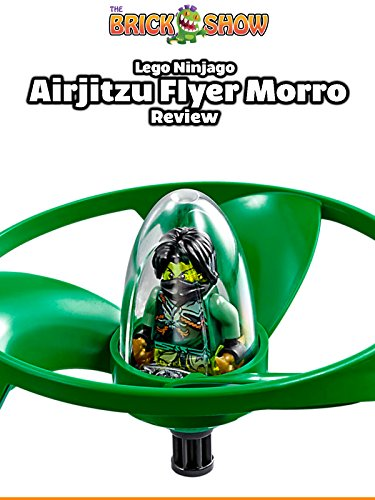LEGO Ninjago Airjitzu Morro Review 70743 + Outdoor Demonstration!