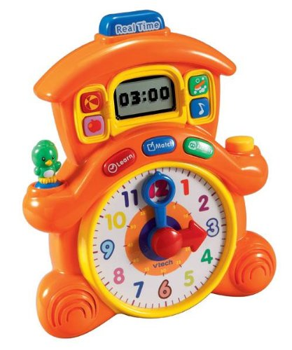 V-Tech Cuckoo Pet Learning Clock - 1