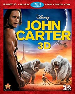 John Carter (Four-Disc Combo: Blu-ray 3D/Blu-ray/DVD + Digital Copy) by Buena Vista