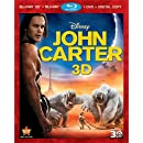 John Carter (Four-Disc Combo: Blu-ray 3D/Blu-ray/DVD + Digital Copy)