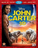 John Carter [Blu-ray 3D + Blu-ray + DVD + Digital Copy]