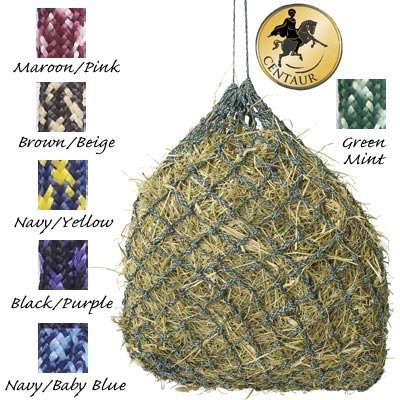 Niblet Slow Feed Hay Net Stall, Maroon/Pink (Slow Feed Horse Hay Net compare prices)
