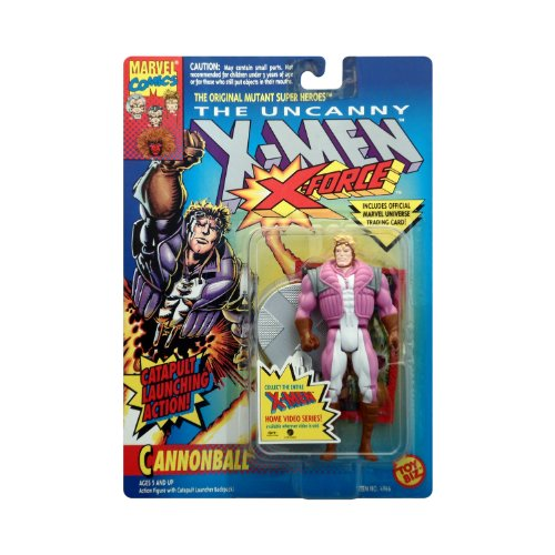 The Uncanny X-Men, X-Force Cannonball Catapult Launching Action Figure - 1