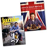 Jamie's Oliver Collection 2 Books Set Pack RRP: £ 56.00 (Jamie's Great Britain, Jamie Does...Spain/Italy/Sweden/Morocco/France/Greece) Jamie Oliver
