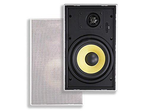 Monoprice 106035 6-1/2-Inch Easy-Install In-Wall Speaker