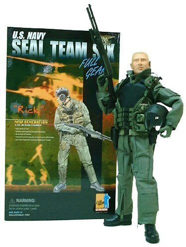 Picture of Dragon Rick - U.S. Navy Seal Team Six 12 inch Action Figure by Dragon (B000VMEMFQ) (Dragon Action Figures)