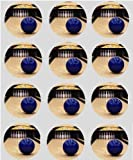 12 Ten Pin Bowling rice paper fairy cup cake 40mm toppers pre cut decoration