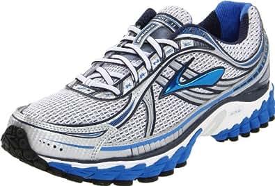 Brooks Men's Trance 11 Running Shoe,Passat Grey/Strong Blue/Obsidian/White/Metallic,10 D US