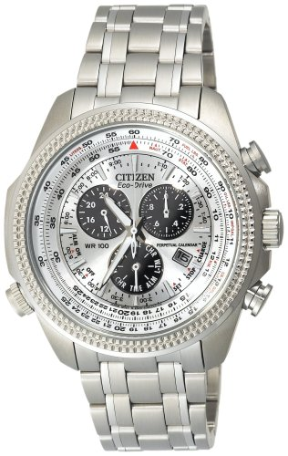 Citizen Men&#8217;s BL5400-52A Eco-Drive Stainless Steel Sport Watch