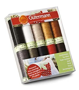 Multipack Top Stitch Thread Pack 30m by Gutermann