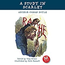 A Study in Scarlet (       ABRIDGED) by Arthur Conan Doyle, Tony Evans Narrated by Rob Penman