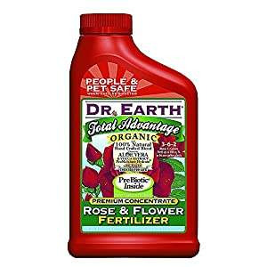Dr earth total advantage organic rose flower fertilizer 24 oz con patio - Organic flower fertilizer homemade solutions ...
