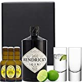 Hendricks Gin & Fentimans Tonic Gift Set with Hand Crafted Gifts2Drink Tag