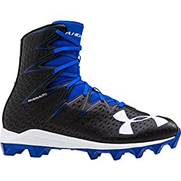 Men\'s Under Armour Highlight RM Football Cleat Black/Team Royal Size 10.5 M US