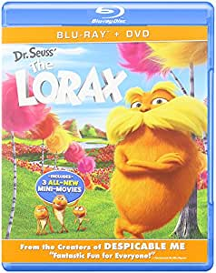 Dr Seuss the Lorax [Blu-ray]