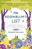By Natasha Solomons - Mr. Rosenblum's List: Or Friendly Guidance for the Aspiring Englishman (Reprint) Natasha Solomons