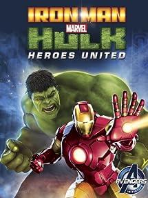 Iron Man and Hulk: Heroes United DVD