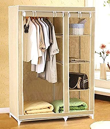 Inditradition Large Size Storage Wardrobe   Foldable Almirah   Cloth    Accessory Rack Cum Cabinet. Inditradition Large Size Storage Wardrobe   Foldable Almirah