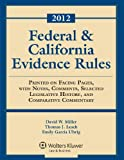 img - for Federal & California Evidence Rules, 2012 Edition, Statutory Supplement book / textbook / text book