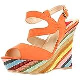Fahrenheit Ivanka-01 Wedge Sandal