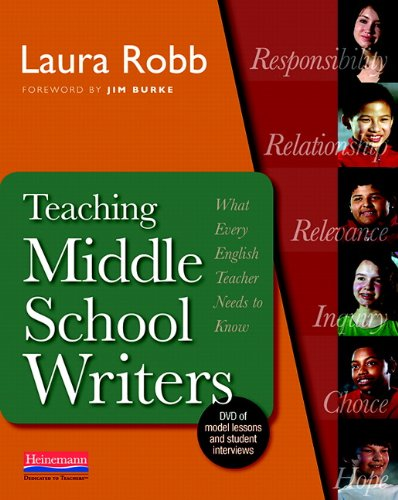 Teaching Middle School Writers: What Every English...