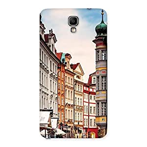 Premium Prague Street Multicolor Print Back Case Cover for Galaxy Note 3 Neo