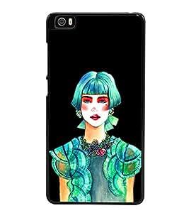 Beautiful Girl 2D Hard Polycarbonate Designer Back Case Cover for Xiaomi Mi 5 :: Redmi Mi5