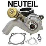 Turbocharger AUDI A3 8L1 1.8 T KW 110,132 1996 ONWARDS; SEAT LEON 1M1 MK1 1.8 20V T KW 132 99-06; SKODA OCTAVIA 1U2 MK1 1.8 T KW 110 97-10 +ESTATE 1U5 1.8 T; VW BORA ESTATE 1J6 1.8 T KW 110 00-05; VW GOLF MK4 1J1 1.8 T KW 110 97-05; VW NEW BEETLE 9C1, 1C